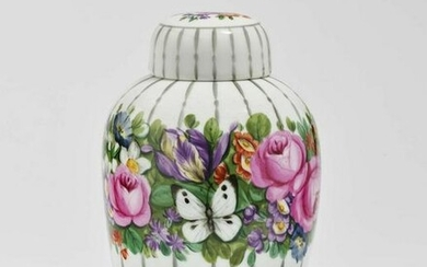A lidded urn Nymphenburg, after 1909, design by Josef