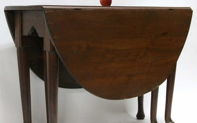AMERICAN SOUTHERN ANTIQUE DROP SIDE TABLE