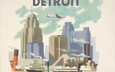 American Airlines / Detroit.