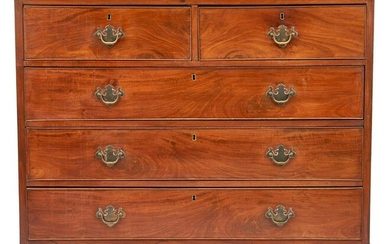 American Chippendale Mahogany Chest of Drawers