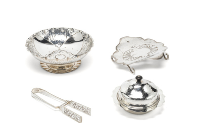 An Arts and Crafts silver bowl