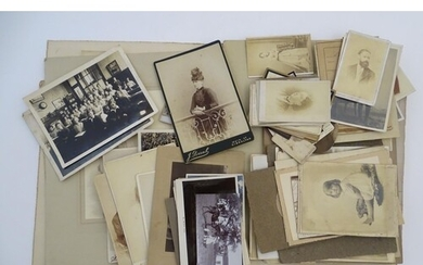Australia interest: a collection of 19thC monochrome photogr...