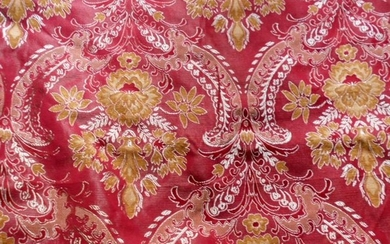 Beautiful San Leucio damask fabric - Textiles - 21st century