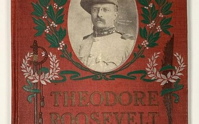 Book - Theodore Roosevelt Patriot and Statesman
