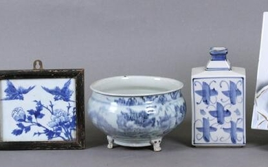 Chinese or Asian Blue & White Ware (19th/ 20th Century)
