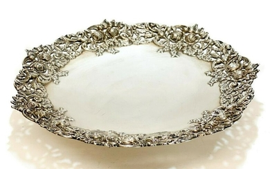 Curtis Co. Sterling Silver Pierced Compote Dish #2397