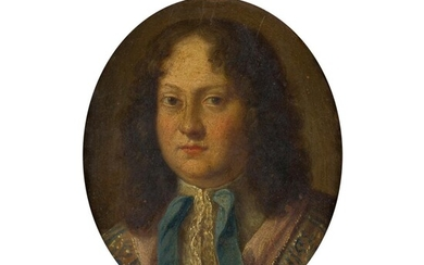 DUTCH SCHOOL (17TH CENTURY) PORTRAIT MINIATURE OF A GENTLEMAN