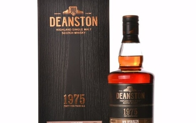 Deanston 1975 44 years old Single Cask Exclusively Released for Taiwan - One of 59 - Original bottling - 700ml