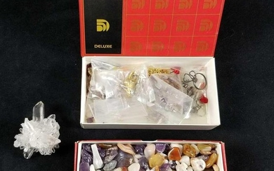 Deluxe Jewelry Making Kit with Assorted Stones and