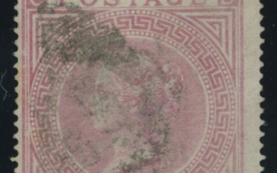 Great Britain Surface Printed 1867-83 High Values Watermark Maltese Cross 5/- pale rose, plate...