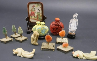 Group of Small Chinese Items