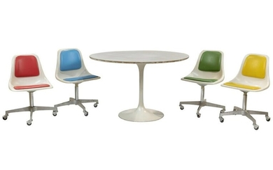 Howell - Tulip Chairs and Table