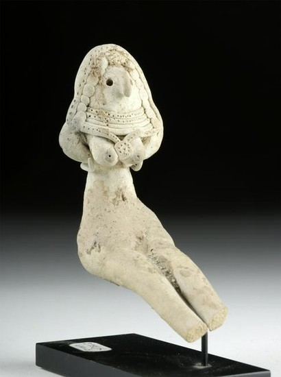 Indus Valley Mehrgarh Pottery Seated Fertility Goddess