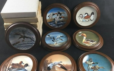 Lot of 8 Federal Duck Stamp Plate Collection Plates