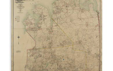 (NEW YORK LONG ISLAND.) Hyde, E. Belcher. Real Estate Reference Map of Nassau County Long Island.
