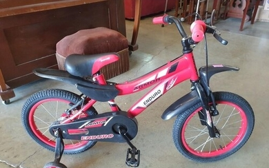 "Red Armour ""En Duro Sport"" Boys Bike with Stabilisers (New i..."