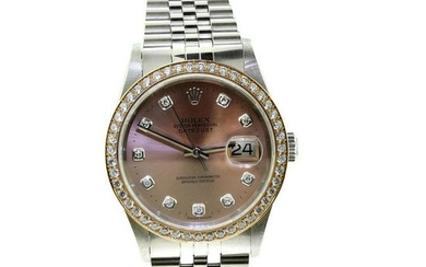 Rolex Datejust Pink Dial
