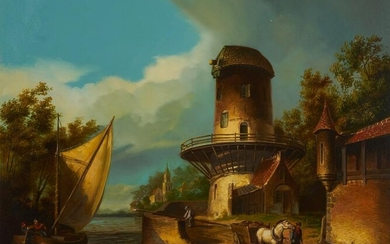 Theo Reijmers - Dutch Sails by the Mill