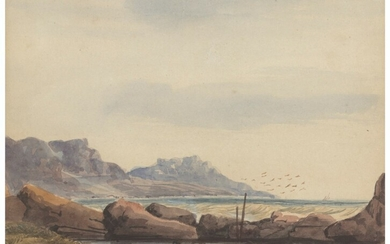 Thomas William Bowler (1812-1869), Camps Bay, Cape of Good Hope