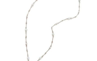 Tiffany & Co.| Diamond Pendant-Necklace, France