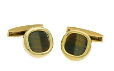 Tiger eye cufflinks GG 75