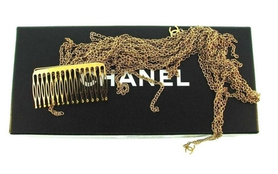 WOW Chanel Gold Plated Hair Clip