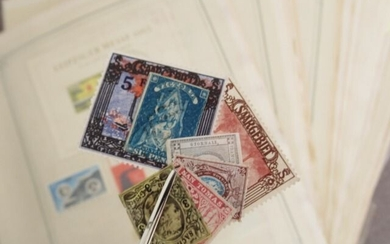 World - including Germany, Italy and Saarland, stamp collection.