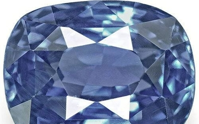 1.53-Carat Flawless Cornflower Blue Unheated