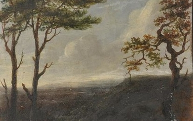 18th Century Dutch School. An Extensive Landscape, Oil