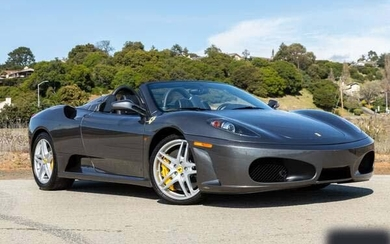 2006 FERRARI F430 SPIDER F1 With Only 15K MILES DRIVEN