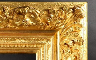 A 19th Century French Gilt Composition Frame with