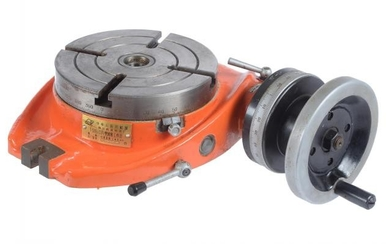 A Chester UK rotary milling table