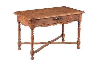 A French chestnut side table