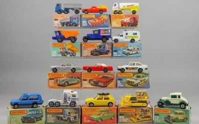 A Mixed Collection of Matchbox Diecast Model Vehicles, including...