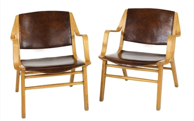 A pair of 'AX' chairs