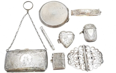 A selection of silver