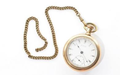 AMERICAN WALTHAM GOLD FILLED POCKET WATCH