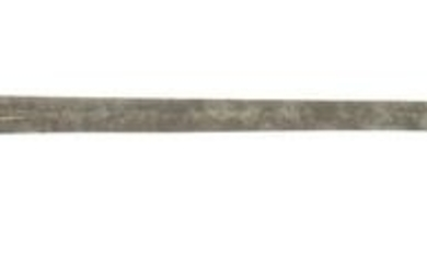 EARLY AMERICAN SILVER-HILTED SMALL SWORD WITH PIERCED