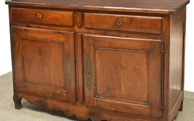 FRENCH LOUIS XV STYLE FRUITWOOD SIDEBOARD