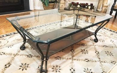 Glass Coffee Table, RA6A