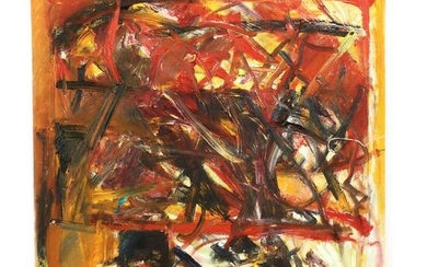 Krista Collins (CA), Abstract Expressionist Painting