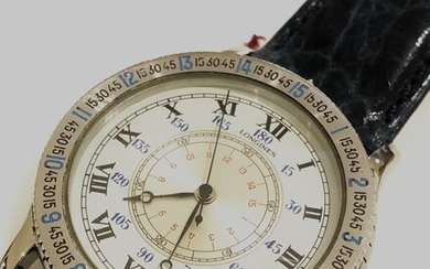 Longines Hangle hour watch Circa 2000 Charles Lindbergh Edition Ref 989.52.15