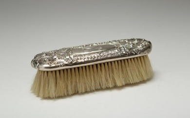 Tiffany & Co. Repousse Silver Clothing Brush