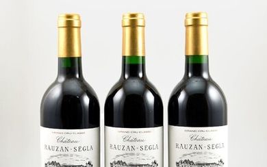 3 bottles of 1998 Chateau Rauzan-Segla, Margaux,...