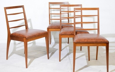 4 Mid Century Modern Dining Chairs by McIntosh