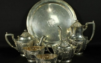 6 Pc. Sterling Silver Teaset