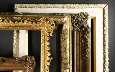 "A 19th Century English Gilt Composition Frame, 25"" x"