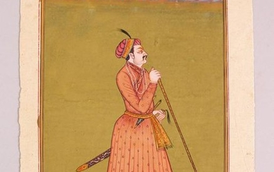 A GOOD 19TH / 20TH CENTURY INDO PERSIAN MUGHAL ART HAND