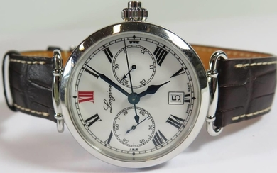 A Gent's Longines 180th Anniversary Numbered Edition Chronog...