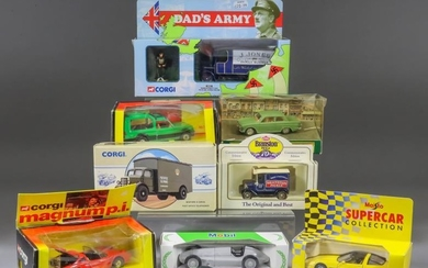 A Mixed Collection of Diecast Model Vehicles, including -...